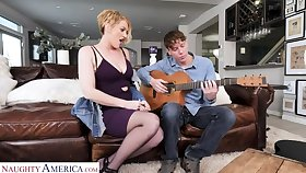 Period before Laurence stamina teach a sex lesson concerning the guitar teacher
