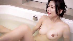 Model - Really Hot Asian Chunky Tits Slut Hard Fucked by Old Man! - Chunky tits