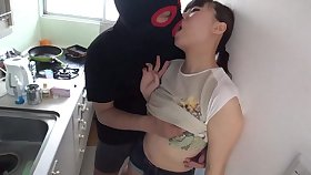 Japanese lustful beauty incredible sex coupling